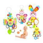 Newborn Baby Car Crib Stroller Handbells Rattle toys Cute Rabbit Interactive Toy