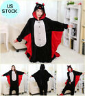 USA Adult Kids Unisex Cosplay Kigurumi Pajamas Animal Sleepwear Onesi1 Pyjamas