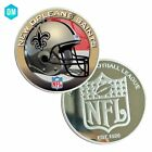 Coin Collectible 999.9 Silver Plated US Football every Team Sport Coin Metal