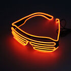 Clubbing LED Light Up Sunglasses Music Sound Control Costume Rave Cosplay Party