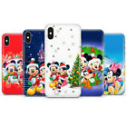 Disney Mickey Mouse Minnie Real Fan Phone Case Cover For iPhone 5/6/7/8/X/XS, D7