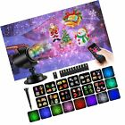 COMLIFE Christmas Decoration Projector Lights with 12 Slides 10 Colors for Ho...