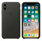 Original Apple Schutzhülle iPhone 7/8/X/XR/XS  Silikon Case Handy Hülle Cover