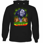 Feel No Pain Mens Bob Marley Reggae Hoodie