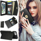 Women's Phone Wallet Card Case Multi-purpose Leather Clutch Handbag Purse Cover