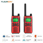 22Channel Twins Walkie Talkies FRS/GMRS 462-467MHz Two-Way Radio Interphone Red