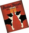Boston Terrier Brewing Co. Poster Print by Ryan Fowler (11 x 14) A