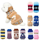Kyпить Pet Dog Winter Warm Jumper Pullover Sweater Small Medium Dog Clothes Set Outwear на еВаy.соm