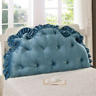 Внешний вид - Huge Pillow Headboard Support Reading Head Soft For King Queen Bed Footboad Gift
