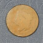 1817 Large Cent Matron Head, Slight Rim Damage, AG Condition (Z-0080)