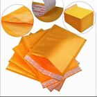Padded Bubble Postal Bags Envelopes Mail Bags All Sizes Yellow Brown 170x245mm