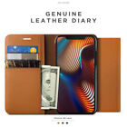 VRS Genuine Leather Card ID Diary Slim Wallet Cover For iPhone X XS Max XR Case
