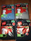 Hanes Mens Pocket T-Shirt 3 Pack Tagless S-3XL 100% Cotton All Colors  !! image