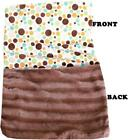 Luxurious Plush Pet Blanket - Fall Party Dots - 6 Sizes Available