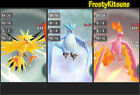 6IV Shiny Zapdos / Articuno / Moltres Pokemon Let's Go Strategy Guide [LGPE]