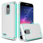 For LG Rebel 4/Phoenix 4/Fortune 2/Zone 4 Case Cover + Glass Screen Protector