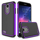 For LG Rebel 4/Phoenix 4/Fortune 2/Zone 4 Case Cover / Glass Screen Protector