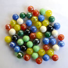 20 100pcs 16mm Mix Colors Glass Beads Marbles Kid Toy Fish Tank Decorate