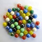 20~100pcs 16mm Mix Colors Glass Beads Marbles Kid Toy Fish Tank Decorate