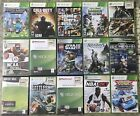Xbox 360 Game Lot - Pick Your Game