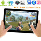 "VOYO i8 Max 10.1"" Tablet PC Deca Core 4+64GB Android 7.1 Dual Camera GPS Phablet"
