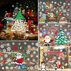 Us Christmas Snowflake Frozen Decal Window Wall Stickers Vinyl Xmas Decor Gift