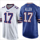 2018 New Buffalo Bills 17#Josh Allen Men's Jersey Blue/White Size M-3XL on eBay