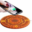 Big Magical Array Fast Qi Wireless Charger For iPhone XS Max XR 8 Plus Huawei LG