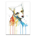 Modern Watercolor Fox Head Animal Canvas Art Poster Prints Picture Home Decor