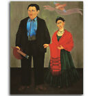 HD Canvas Painted Oil Painting Wall Decor Frida Kahlo 1931 Frida e Diego Rivera