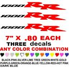 1000RR  CBR   STICKERS DECALS   ANY COLORS  FIREBLADE MOTORCYCLE BIKE RACE