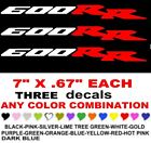 600RR  CBR   STICKERS DECALS   ANY COLORS  FIREBLADE MOTORCYCLE BIKE RACE