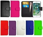 Black Book Wallet Flip PU Leather Stand Case Cover For Various Apple iPhones