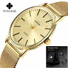 2018 WWOOR Relogio Masculino Quartz Luxury Mens Watch - US Seller! image