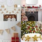 Christmas bunting, garlands. Ginger Ray christmas decorstions. Gingerbread, tree
