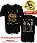 Queen Adam Lambert 2019 t shirt The Rhapsody Tour 2  Queen t shirt  S to 6X image