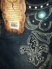 Montana West Trinity Ranch Discontinued Designer Jeans Western Boot Cut Juniors
