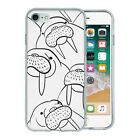 For Apple iPhone 8 Silicone Case Seal Pattern - S2495