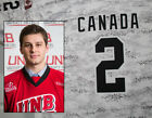 UNB Hockey - Game Worn Camo Jersey - #2 Randy Gazzola (XL)