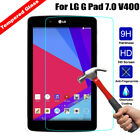 Tempered Glass Screen Protector Cover For LG G Pad 7.0/ G pad F 8.0 Tablet Film