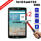 2Pcs Full Cover Tempered Glass Screen Protector For Apple iPad / Samsung /Amazon