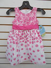 Toddler Girls American Princess Pink & White Dresses Size 2T - 4T
