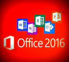 Office Professional Plus 2016 Flash Drive Fresh Install New Interface