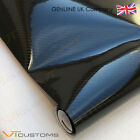 5D Carbon Fibre Vinyl Film - Sheet Wrap Sticker Bubble Free Car Black Gloss