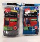 Hanes Tag less Boxer Briefs 10 Pack Mens Assorted Colors  Bands