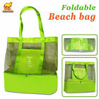 Mesh Beach Outdoor Sport Tote Bag w Insulated Picnic Cooler /Heat Insulatiion