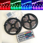 5050 RGB LED Strip  Flexible Light Tape Ribbon&44key IR Remote Controller 5M/10M
