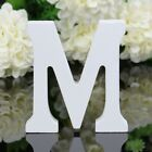 US 8cm X1.2 cm 3D Wooden Word Letters Card DIY Plaque Wall Art Craft Sign Design