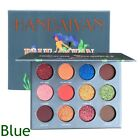 Beauty Matte Eye Cosmetics Pearlized Glitter Brighten Powder Eyeshadow Palette