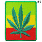 Rasta Reggae Africa Funny Peace Love Sign Hippie Boho 70's iron on patches #1